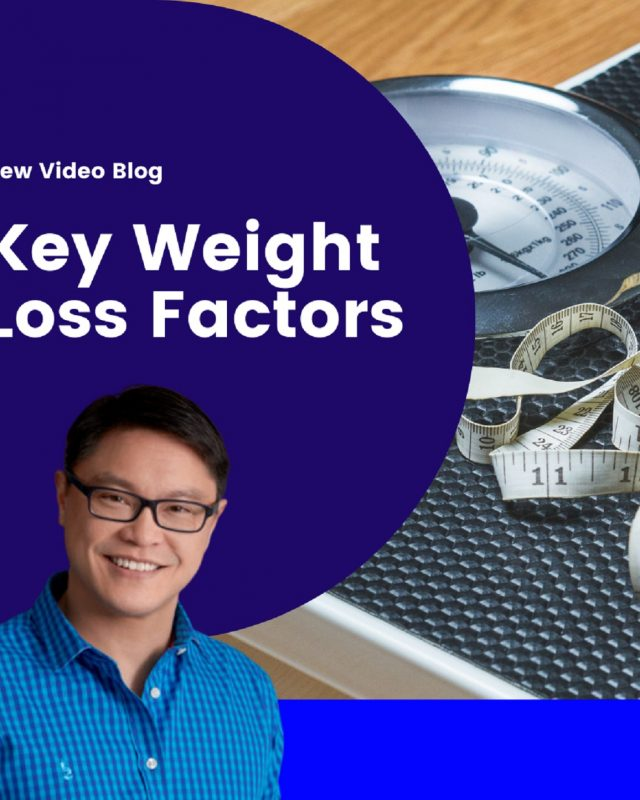 The Key Factors of Weight Loss